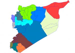 Syria_districts